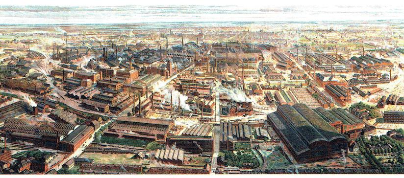資本主義の変質 第2次産業革命