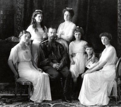 ニコライ2世家族
