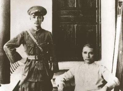孫文と蒋介石