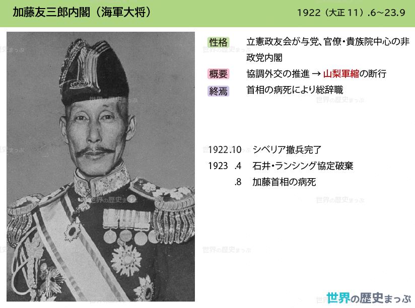 加藤友三郎内閣