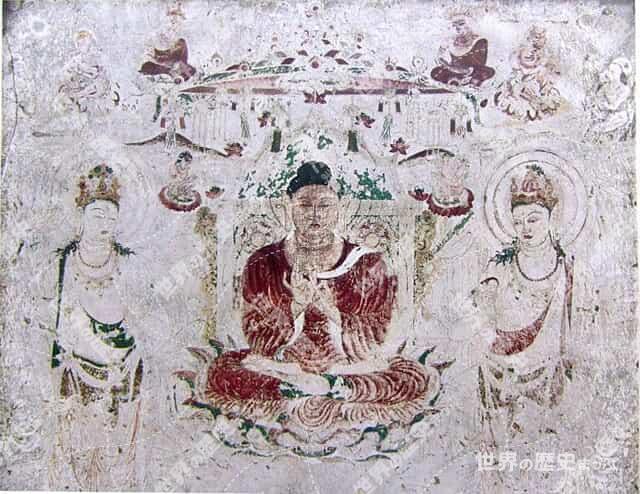 法隆寺金堂壁画