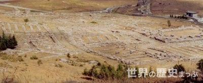ヒッタイトの首都ハットゥシャ 大神殿跡